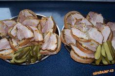 Naložený bůček - na chleba