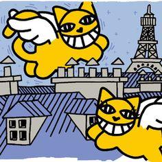 M. Chat, Couple de chats volants, Edition