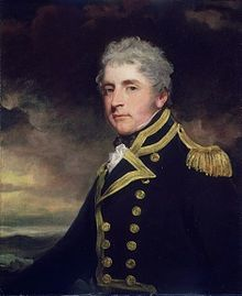 """Captain Henry Blackwood by John Hoppner National Maritime Museum Royal Navy Uniform, Royal Navy Officer, Victorian Portraits, Navy Uniforms, Man Of War, Maritime Museum, National Portrait Gallery, Historical Art, Old Paintings"