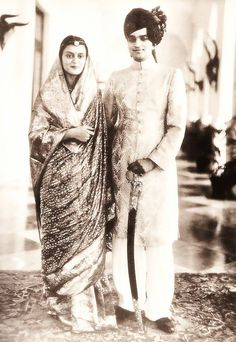 HH Maharani Gayatri Devi and HH Maharaja Jai Singh of Jaipur, When Gayatri Devi was sent to the Monkey Club finishing school in Knightsbridge, they met secretly and became unofficially engaged. Their romance aroused opposition on all sides, and when in 1939 they let it be known that they intended to marry, there was consternation in princely circles.