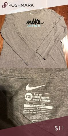 Nike Long Sleeve ladies This is a slim fit xxl, fits more like a regular xl, excellent condition, long sleeve Nike Tops Tees - Long Sleeve