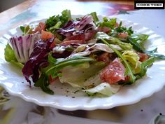 Kuchnia PROzdrowotna: Apetyczna i szybka sałatka FIT do obiadu