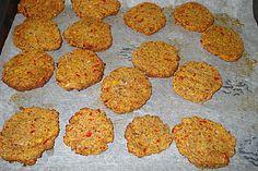 Würzige Nutburger Vegetarische Frikadellen aus dem Backofen  mit Kichererbsen