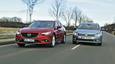 Mazda 6 kontra Volkswagen Passat: który model zostanie królem kombi?