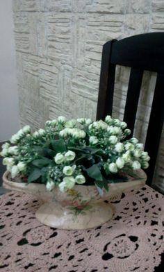 Arranjo de mini rosas