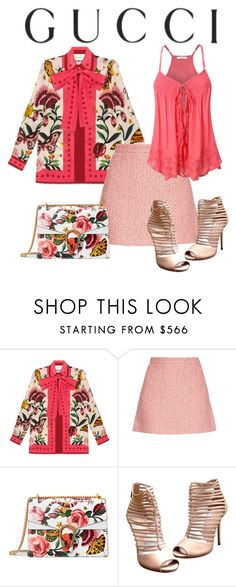 """""""Presenting the Gucci Garden Exclusive Collection: Contest Entry"""" by mountainalive ❤ liked on Polyvore featuring Gucci and gucci"""