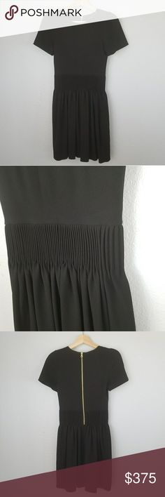 Isabel Marant black cinch waist dress Size 1 Isabel Marant No. 1501 black cinch waist dress Size 1  Measurements to come. Need them now? Ask :) Isabel Marant Dresses