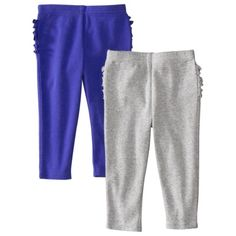 JUST ONE YOU  Made by Carters ® Infant Girls' 2 Pack Pant - Grey/Purple.Opens in a new window. $16. talles: RN, 3, 6, 9, 12, 18 meses