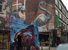 London street art shoreditch