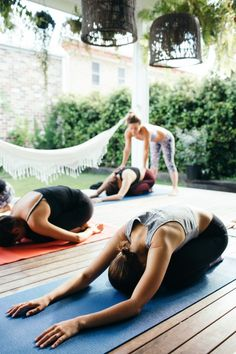 Weekend Do: Host an At-Home Yoga Class | Free People Blog #freepeople