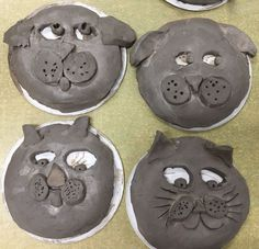 Image result for elementary clay projects