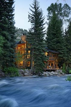 River House, Aspen, Colorado photo via wake