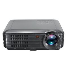 LED Projector,ELEGIANT 3500 Lumens Mini Portable Home Theater Projector 800x480 Resolution Support 1080P USB HDMI VGA SD AV for Home Theater Video Games Gaming Business Presentations Black