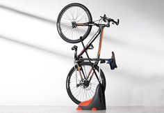 Need a Gift for Him? Sharper Image has hundreds of cool and unique, Personalized Gifts for Him. Find the best personalized gift for him at Sharper Image. Motorcycle Lift Table, Bike Lift, Bike Storage, Built In Storage, Garage Apartment Floor Plans, Garage Apartments, Bicycle Stand, Vertical Storage, Vertical Bike