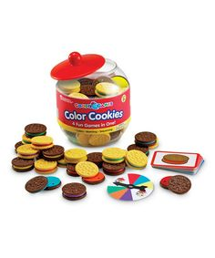 Love this Goodie Games Color Cookies Set on #zulily! #zulilyfinds