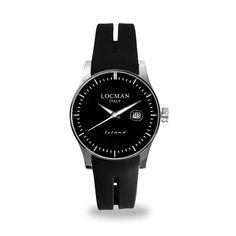 In acciaio e titanio con vetro antigraffio, questo orologio Locman serie Island è perfetto per il lui sportivo ma attento al giusto rapporto prezzo\qualità