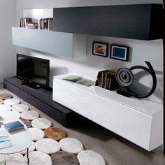 modular tv lcd rack vajillero exc. calidad.modelo toscana