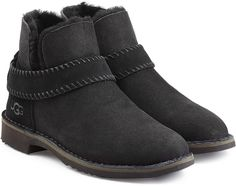 UGG Australia Fold Cuff Ankle Boots