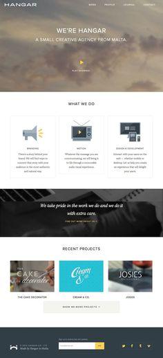 Hangar — Creative Agency http://www.madebyhangar.com