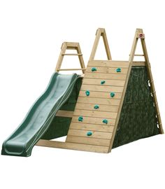 Climbing pyramid with lateral slide. Dimension x weight max. The multifunctional climbing pyramid with slide for Kids Outdoor Play, Outdoor Play Areas, Kids Play Area, Backyard For Kids, Outdoor Toys, Outdoor Fun, Diy For Kids, Wooden Climbing Frame, Climbing Frames