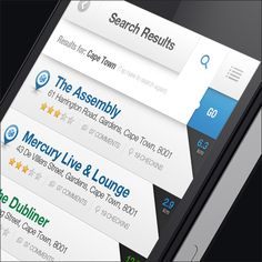 nice search // Extra Cold Finder iOS/Android Application on Behance