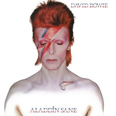 David Bowie - Aladdin Sane (180 Gram Vinyl) (L.P.)-Sealed-New Record on Vinyl Track Listing - Watch That Man - Aladdin Sane (1913-1938-197?) - Drive-In Saturday - Panic In Detroit - Cracked Actor - T