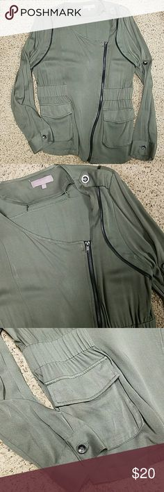 Harper Jacket from Apricot Lane Boutique Harper Hunter Green Jacket from Apricot Lane. No tags but I never wore it just because it was a little too tight in the arms for me. Harper Jackets & Coats Jean Jackets