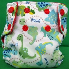 Modern Cloth Nappy by NappiesByNicole