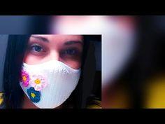 Máscara de Crochê ♥️ novo modelo em ponto baixo - YouTube Crochet Mask, Crochet Faces, Crochet Stitches, Crochet Patterns, Zipper Tutorial, Crochet Flowers, Crochet Projects, Free Pattern, Diy And Crafts