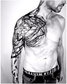Weird Tattoos, Top Tattoos, Pretty Tattoos, Body Art Tattoos, Tattoos For Guys, Arm Sleeve Tattoos, Tattoo Sleeve Designs, Arm Band Tattoo, Blitz Tattoo