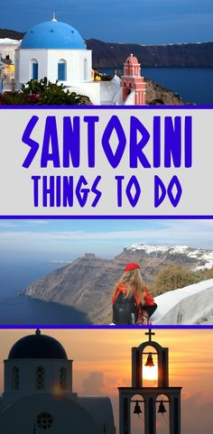 Santorini is the most popular Greek island, due to the stunning views and incredible beauty. Here's a guide of things to do in Santorini when spending a few days there. #Santorini #Greece #Greekislands