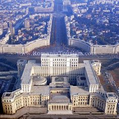 The Palace of Parliament is located in the capital of Romania, Bucharest.The second largest building in the world after Pentagon, and the heaviest building in the world. Bulgaria, Palace Of The Parliament, Capital Of Romania, Architecture Cool, Visit Romania, Little Paris, Le Palais, Wonderful Places, Budapest