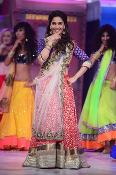 Madhuri Dixit at Jhalak Grand Premiere Night