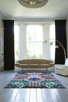 Harlequin carpet by Zuzunaga for Brintons.