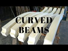 A video of making curved beams. First I started by making a simple draft and transferring it to an old and used up formwork plywood. Curved Pergola, Diy Pergola, Pergola Kits, Pergola Plans, Building A Carport, Boat Building, Steam Bending Wood, Carport Kits, How To Bend Wood