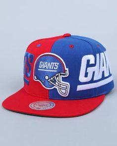 Mitchell & Ness - New York Giants NFL  Split Snapback cap