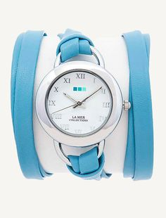 Wedgewood-Silver Saturn Wrap Watch