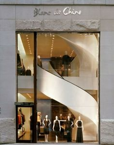 Retail Storefront - Blanc de Chine Store, New York - S. Russell Groves
