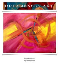 One small stone in a pond can create a ripple as large as the pond, just like a small idea can grow into a masterpiece.  http://dreajensengallery.artistwebsites.com/featured/inspiration-2012-drea-jensen.html