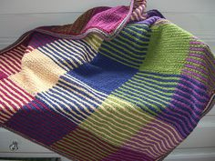 Ravelry: Blocks of Color Blanket pattern by Elise Duvekot