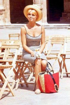 BEACH BONNET- Brigitte Bardot   Mark D. Sikes: Chic People, Glamorous Places, Stylish Things