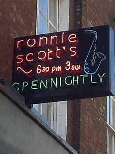 Ronnie Scott's Jazz Club in London, Greater London