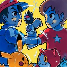 Pokemon x Yokai watch crossover