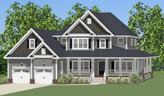 Plan 46295LA: Traditional House Plan with Optional Bonus Room