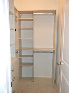 Dimensions for half-height and full-height hanging spaces. Click ...