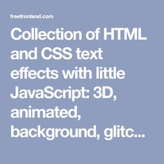 Free bootstrap 4 cheat sheet pdf quickly sort classes list to collection of html and css text effects with little javascript 3d animated background malvernweather Images