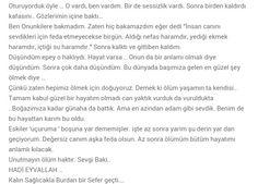 Poyraz Karayel Sefer'in son şiiri