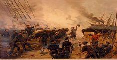 Shiloh, Military Art, Military History, Military Service, American Civil War, American History, Sloop Of War, Uss Kearsarge, Civil War Art