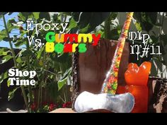 How to make a gummy bear axe because you clearly need one - http://blog.clairepeetz.com/how-to-make-a-gummy-bear-axe-because-you-clearly-need-one/