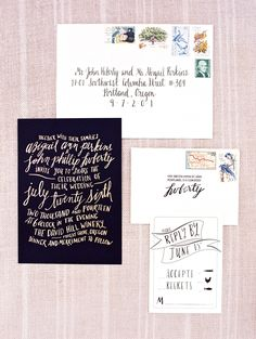 wedding invitation idea; photo: Clary Pfeiffer Photography
